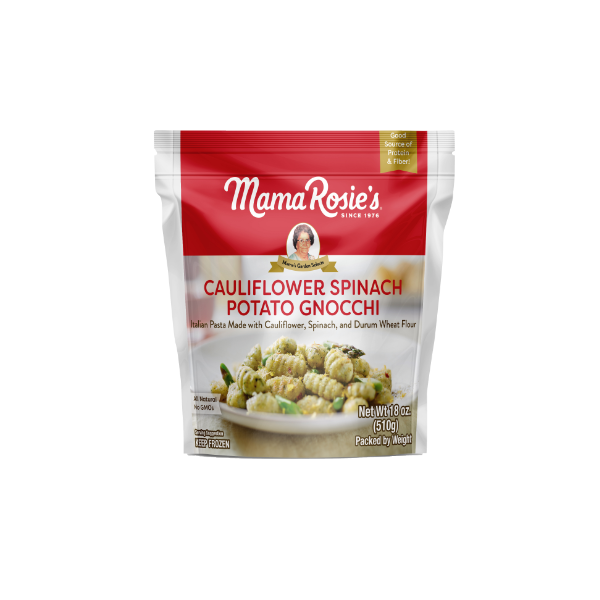 Cauliflower Spinach Potato Gnocchi